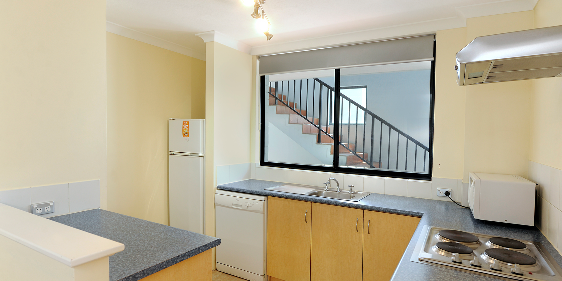 Family Apartment Kitchen View